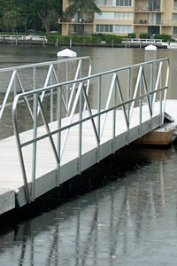 picture of custom aluminum railings