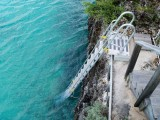 Custom 18 Step Ocean Access Ladder