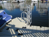 FloatStep® Ladders Adapt to EZ Docks