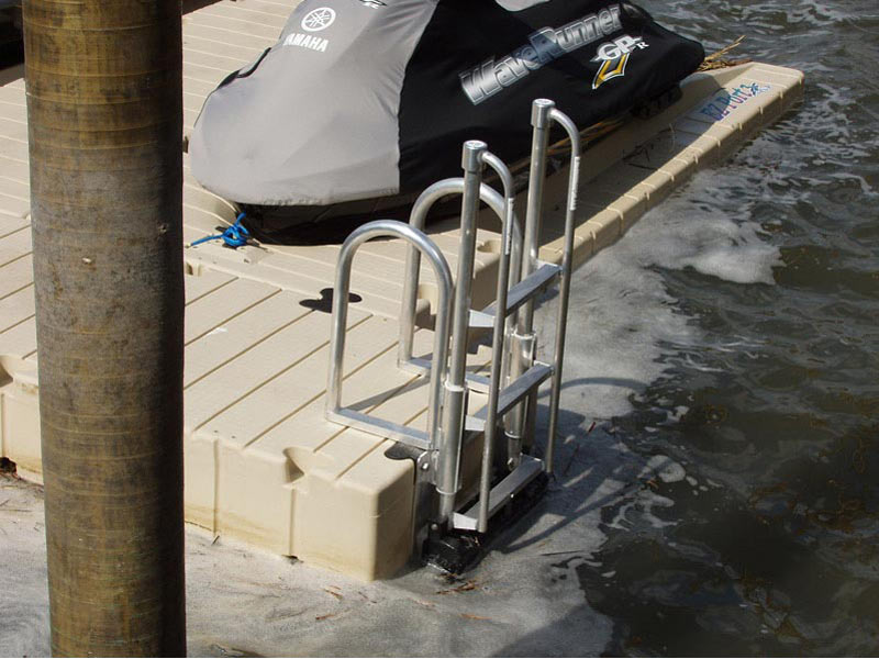 Floatstep 174 In Action Atlantic Aluminum Marine