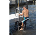 FloatStep® Ladder for Fixed Dock Finger Pier.