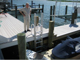 And the FloatStep® ladder removes itself from the water automatically.