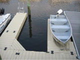 FloatStep® Ladder on an EZ Dock