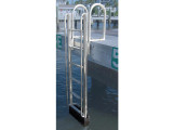 FloatStep® Dock Ladder on an Aluminum Fixed Dock