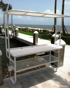 Stock Island Marina Invests in Fish Cleaning Table and FloatStep® Ladder