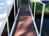 Aluminum Gangway With IPE' Decking