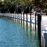 Defend-HER Dock Fenders Built for Sandy Point Condominiums in the Florida Keys.