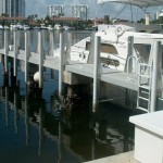 Defend-HER Dock Fenders and Aluminum Fender Brackets for Ocean Reef Club!