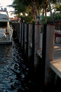picture of Defend-HER dock fenders or dock bumpers