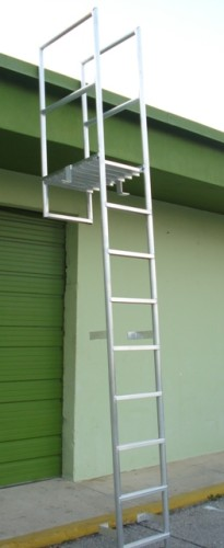 Atlantic Aluminum & Marine Products Fabricates Custom Aluminum Wall Ladders