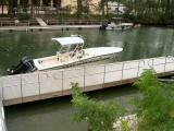 Floating Dock with Railing