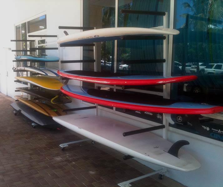 Commercial Sup Board Racks Atlantic Aluminum Marine