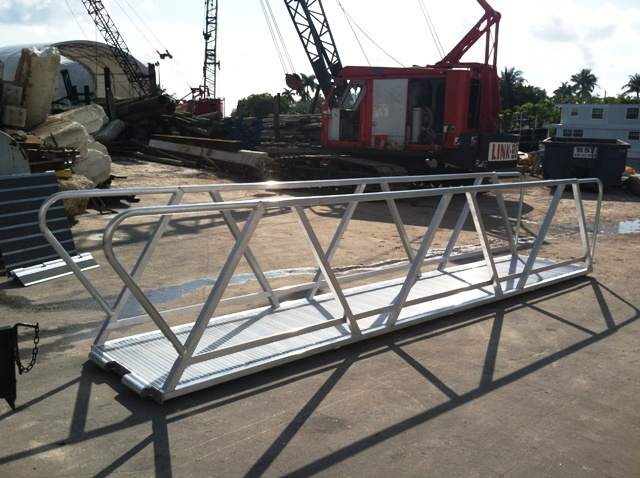 Aluminum Ramps Gangways Stairs Atlantic Aluminum Marine