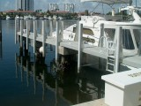 Heavy Duty Defend-HER Dock Fenders with Aluminum Fender Braces