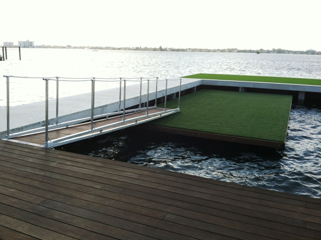 Aluminum Frames Decks And Docks Atlantic Aluminum Marine
