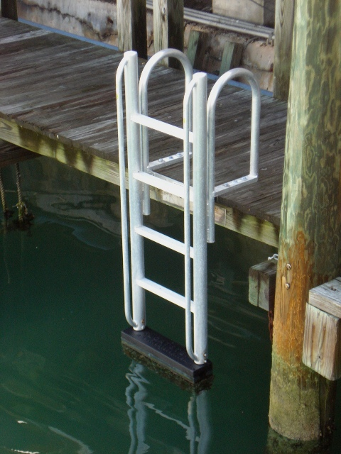 Floatstep 174 Dock Safety Ladders Atlantic Aluminum Marine