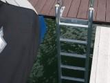 FloatStep Ladder on Residential Dock