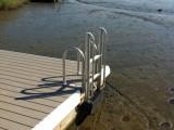 FloatStep Dock Safety Ladder