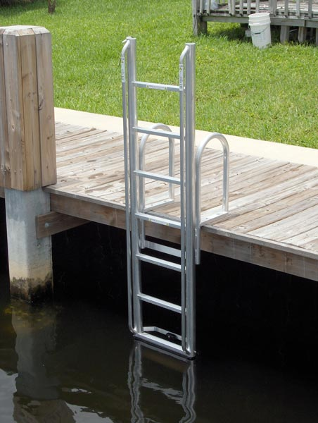 Aluminum Dock And Seawall Ladders