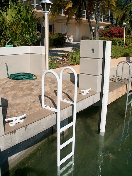 Fixed Aluminum Dock Ladders Atlantic Aluminum Marine