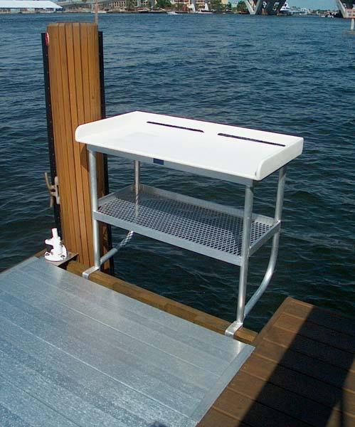 Tuna Tables Fish Cleaning Tables Atlantic Aluminum Marine