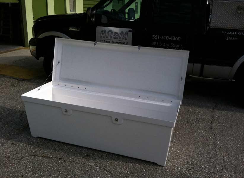 Fiberglass Dock Boxes Amp Steps Atlantic Aluminum Marine