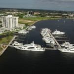 aerial view of Old Port Cove Marina