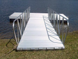 Aluminum Gangway for a Floating Dock