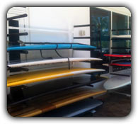 freestanding commercial sup rack