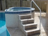 Powder-Coated Stair Railing