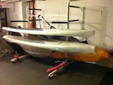 Custom Combination SUP Board & Kayak Rack
