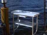 2 Leg fish cleaning table with drawer