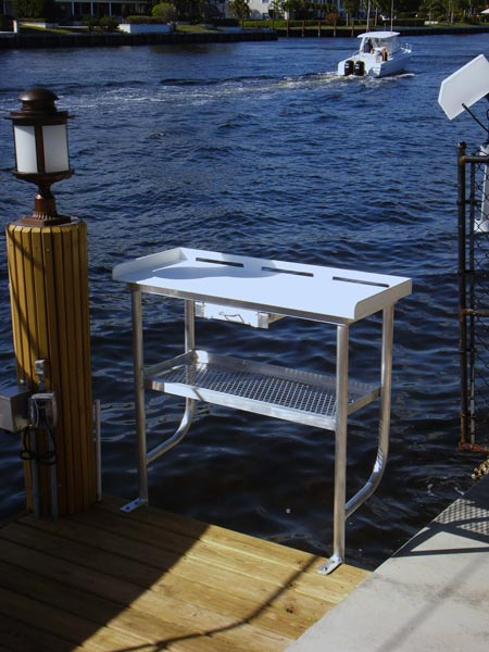 Fish Cleaning Tables / Tuna Tables - Atlantic Aluminum Marine