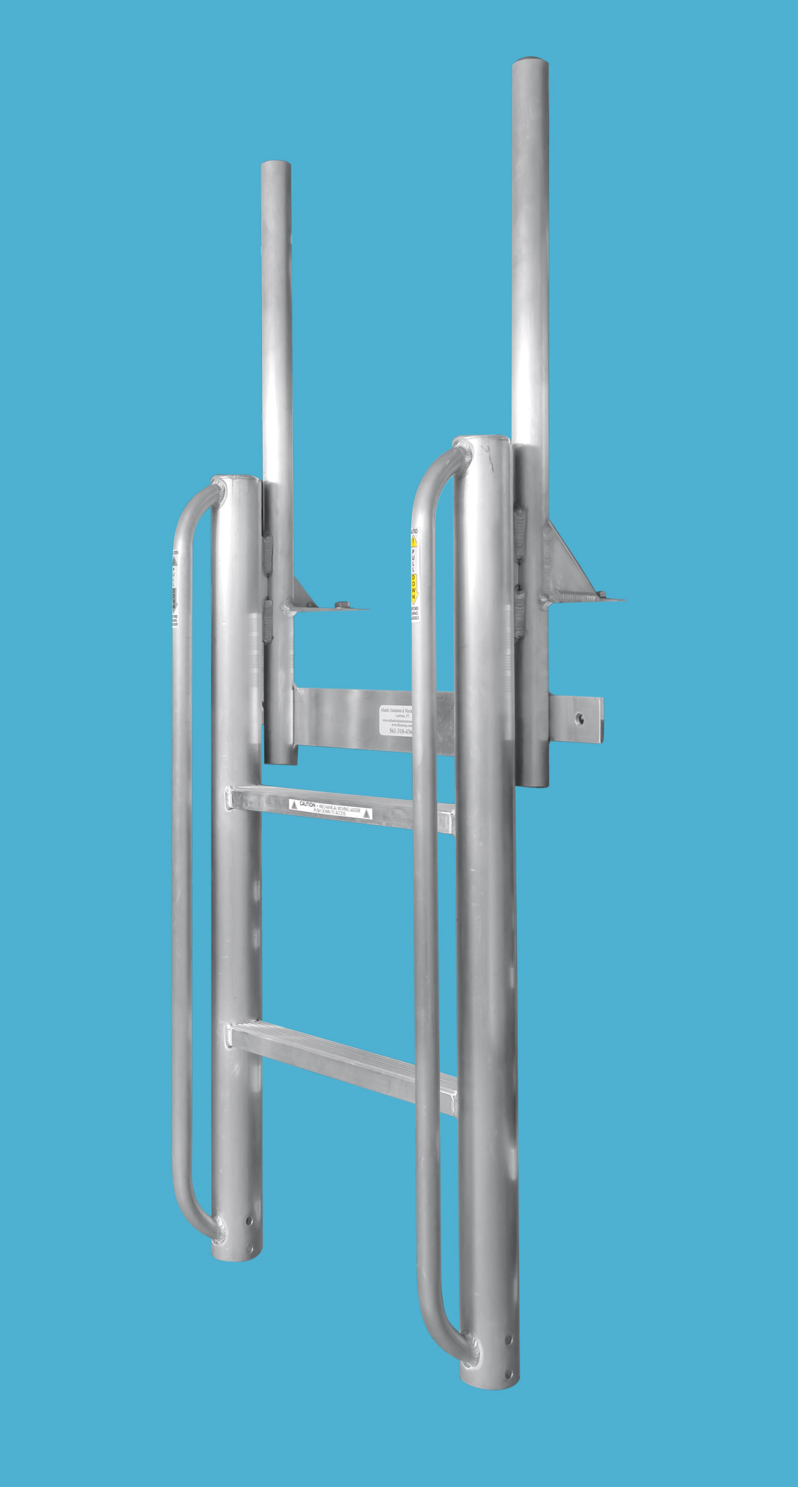 Floatstep Dock Safety Ladders Atlantic Aluminum And Marine